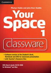 Your Space Level 1. Classware DVD-ROM with Teacher's Resource Disc (програмне забезпечення для роботи за підручником на інтерактивній білій дошці) - фото обкладинки книги
