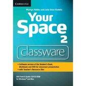 Your Space Level 2. Classware DVD-ROM with Teacher's Resource Disc (програмне забезпечення для роботи за підручником на інтерактивній білій дошці) - фото обкладинки книги