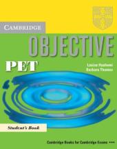 Objective PET. Pack: Student's Book+Practice Test Booklet without answers +CD (підручник +роб.буклет без відповідей +диск) - фото обкладинки книги