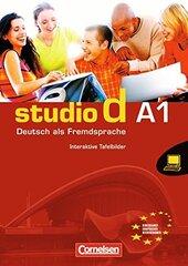 Studio d A1. Whiteboardmaterial auf DVD-ROM Interaktive Tafelbilder Einzellizenz (програмне забезпечення для роботи на інтерактивній білій дошці) - фото обкладинки книги