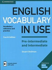 English Vocabulary in Use Pre-intermediate and Intermediate Book with Answers and Enhanced eBook : Vocabulary Reference and Practice - фото обкладинки книги