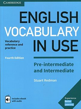 English Vocabulary in Use Pre-intermediate and Intermediate Book with Answers and Enhanced eBook : Vocabulary Reference and Practice - фото книги