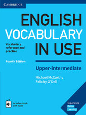 English Vocabulary in Use Upper-Intermediate Book with Answers and Enhanced eBook : Vocabulary Reference and Practice - фото обкладинки книги