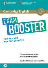 Cambridge English Exam Booster for Key and Key for Schools without Answer Key with Audio Comprehensive Exam Practice for Students - фото обкладинки книги