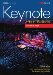 National Geographic Learn Cengage Learning Ted Talks Keynote Upper-Intermediate Teacher's Book Claire Hart with communicative activities by Karen Richardson with Class Audio CD - фото обкладинки книги