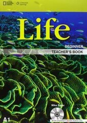 National Geographic Learn Cengage Learning Life Beginner Teacher's Book A1 Mike Sayer with Student's Book Audio CD's - фото обкладинки книги