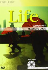 National Geographic Learn Cengage Learning Life Elementary Teacher's Book A2 Mike Sayer with Student's Book Audio CD's - фото обкладинки книги