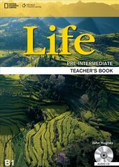 National Geographic Learn Cengage Learning Life Pre-Intermediate Teacher's Book B1 David A. Hill includes Student's Book Audio CDs - фото обкладинки книги