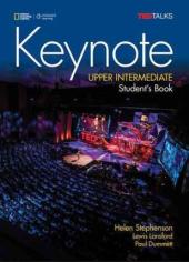 National Geographic Learn Cengage Learning Ted Talks Keynote Upper-Intermediate Student's Book with DVD-ROM Helen Stephenson, Lewis Lansford, Paul Dummett - фото обкладинки книги