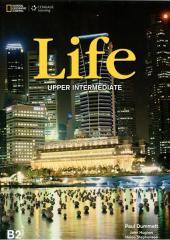 National Geographic Learn Cengage Learning Life Upper-Intermediate Student's Book B2 Paul Dummett, Lohn Hughes, Helen Stephenson with DVD - фото обкладинки книги