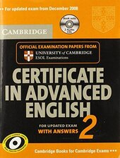 Cambridge Certificate in Advanced English 2 for updated exam Self-study Pack : Official Examination Papers from Cambridge ESOL - фото обкладинки книги