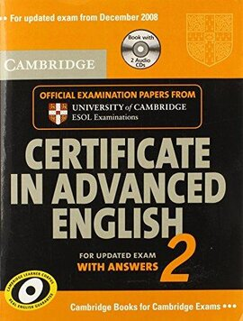 Cambridge Certificate in Advanced English 2 for updated exam Self-study Pack : Official Examination Papers from Cambridge ESOL - фото книги