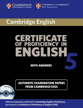 Cambridge Certificate of Proficiency in English 5 Self Study Pack : Examination Papers from University of Cambridge ESOL Examinations - фото книги
