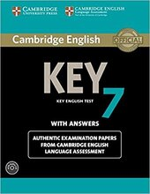 KET Practice Tests: Cambridge English Key 7 Student's Book Pack (Student's Book with Answers and Audio CD): Authentic Examination Papers from Cambridge English Language Assessment - фото обкладинки книги
