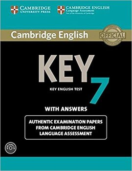 KET Practice Tests: Cambridge English Key 7 Student's Book Pack (Student's Book with Answers and Audio CD): Authentic Examination Papers from Cambridge English Language Assessment - фото книги