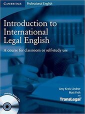 Introduction to International Legal English Student's Book with Audio CDs (2): A Course for Classroom or Self-Study Use - фото обкладинки книги