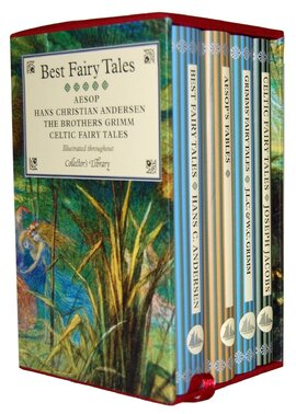 Best Fairy Tales 4-Book Boxed Set : Containing: Andersen's Best Fairy Tales, Aesop's Fables, Grimms' Fairy Tales and J. Jacob's Celtic Fairy Tales - фото книги