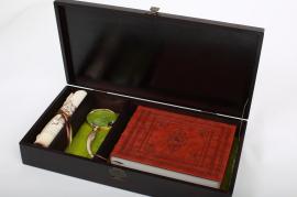 Historiae Biblicae Veteris et. Історія Біблії, Старого і Нового Заповіту (Факсимільне видання у подарунковій дерев'яній коробці з лупою) - фото книги