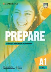 Cambridge English Prepare! 2nd Edition. Level 1. Student's Book with Online Workbook including Companion for Ukraine - фото обкладинки книги