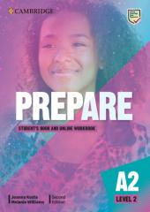 Cambridge English Prepare! 2nd Edition. Level 2. Student's Book with Online Workbook including Companion for Ukraine - фото обкладинки книги