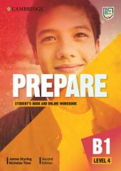Cambridge English Prepare! 2nd Edition. Level 4. Student's Book with Online Workbook including Companion for Ukraine - фото обкладинки книги