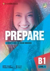 Cambridge English Prepare! 2nd Edition. Level 5. Student's Book with Online Workbook including Companion for Ukraine - фото обкладинки книги