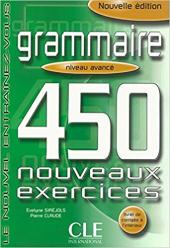 450 nouveaux exerc Grammaire Avan Livre + corriges (підручник) - фото обкладинки книги