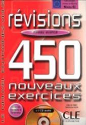 450 nouveaux exercices Revisions Avance Livre+corriges+CD audio(підручник+аудіодиск) - фото обкладинки книги