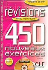 450 nouveaux exercices Revisions Intermediaire Livre+corriges+CD(підручник+аудіодиск) - фото обкладинки книги