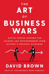 Мистецтво бізнес-війни: уроки, перевірені боями для лідерів та підприємців із найбільших суперництв історії. Тверда обкладинка - фото обкладинки книги