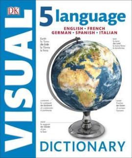 5 Language Visual Dictionary : English, French, German, Spanish, Italian - фото книги