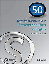 50 ways to improve your presentations skills in English - фото обкладинки книги