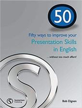 50 ways to improve your presentations skills in English - фото обкладинки книги