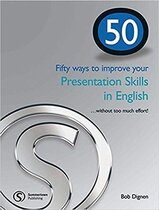 Робочий зошит 50 ways to improve your presentations skills in English