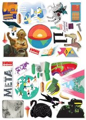 """Набір стікерів """"Комбо!"""" - фото обкладинки книги"""