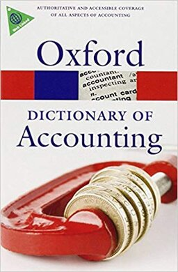 Книга A Dictionary of Accounting