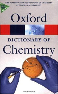 Книга A Dictionary of Chemistry