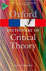 A Dictionary of Critical Theory - фото обкладинки книги