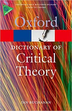 Книга A Dictionary of Critical Theory