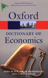 A Dictionary of Economics - фото обкладинки книги
