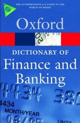 A Dictionary of Finance and Banking - фото обкладинки книги