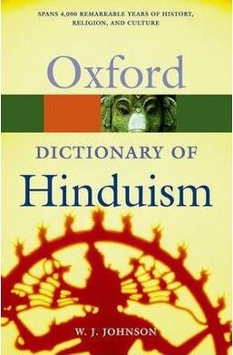 Книга A Dictionary of Hinduism