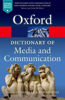 A Dictionary of Media and Communication - фото книги