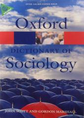 A Dictionary of Sociology - фото обкладинки книги