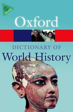 A Dictionary of World History - фото книги
