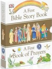 Книга A First Bible Story Book and A First Book of Prayers