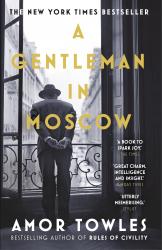 A Gentleman in Moscow - фото обкладинки книги