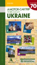 A motor-car trip through Ukraine - фото обкладинки книги