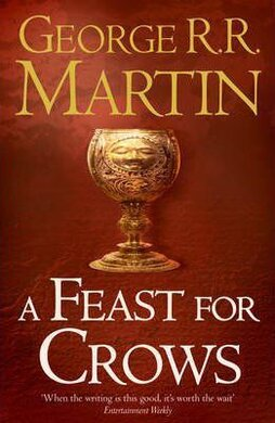 A Song of Ice and Fire. Book 4. A Feast for Crows (dark cover) - фото книги