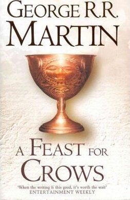 A Song of Ice and Fire. Book 4. A Feast for Crows (light cover) - фото книги